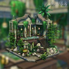 Sims 4 Houses, Campsite, Building A House, Digital, Outdoor Decor, Artwork, Instagram, Doll, Content