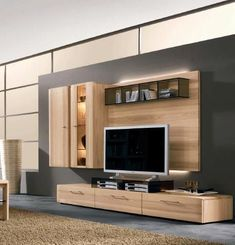 Wooden entertainment center from wall modern tv unit units for sale enterta . wall unit for inch entertainment center tv Tv Unit Design, Tv Wall Design, House Design, Modern Entertainment Center, Entertainment Wall Units, Tv Furniture, Furniture Design, Modern Furniture, Furniture Storage