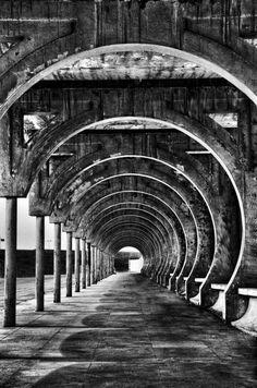 La point de vue - photo noir et blanc