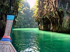 Ao Nang, Krabi, Thailand I hope to go here some time. Ao Nang Thailand, Krabi Thailand, Thailand Travel, Places Around The World, Around The Worlds, Costa, Places To Travel, Places To Visit, Cruise Holidays