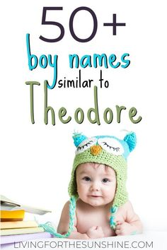 Are you looking for an old fashioned boy name that is similar to Theodore? This list of underused vintage names like Theodore will help you find the perfect baby name! Edgy Boy Names, Unusual Boy Names, Baby Boy Names Strong, Cool Boy Names, Cute Baby Names, Most Popular Boys Names, Names For Boys List, Vintage Boy Names, Vintage Boys