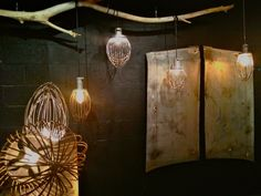 industrial vintage whisk lamps available at l San Diego