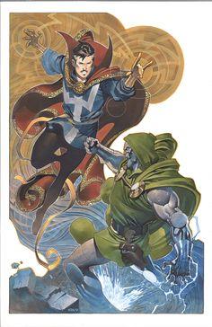Marvel Comic Universe, Comics Universe, Marvel Art, Marvel Heroes, Marvel Comics, Doctor Strange Comic, Dr Strange, Comic Books Art, Comic Art