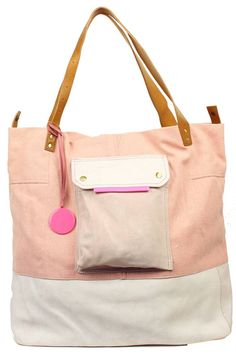 Merel by Frederiek Babylon Baby Bag, Powdery pink