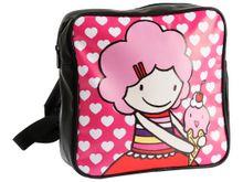 Kleuter meisjes gaan hip naar school met dit roze rugtasje van het populaire merk JIP (juniorinprogress).