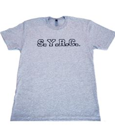 Unisex Syrc Grey College Tshirt Sale Sale College T Shirts