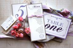 Hey, I found this really awesome Etsy listing at http://www.etsy.com/listing/115123014/shabby-chic-purple-wedding-menu-card