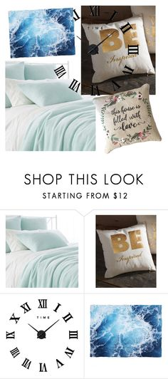 """""""Bedding as a hobby"""" by ladaeliseevaart ❤ liked on Polyvore featuring interior, interiors, interior design, home, home decor, interior decorating, Pine Cone Hill and Roman"""
