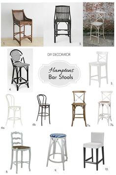 Hamptons Bar Stools                                                       …