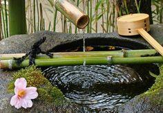 Bamboo Waterfall Fountain