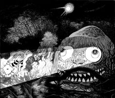"In works like ""Kitaro,"" the iconic manga artist Shigeru Mizuki, who died last month, resurrected Japan's folk creatures as pop culture for the masses."