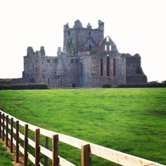 Dunbrody Abbey is a former Cistercian monastery in County Wexford, Ireland. The cross-shaped church was built in the century, and the tower was added in the century. Wexford Ireland, Open Your Eyes, 15th Century, Places To Visit, Tower, Building, Pictures, Travel, Beautiful