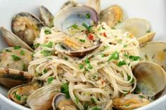 Linguine with White Clam Sauce http://www.yummly.com/recipe/Linguine-With-White-Clam-Sauce-Epicurious_1