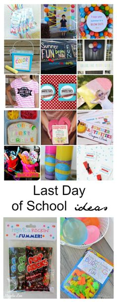 Back to School Ideas| Last Day of School Ideas-The Idea Room