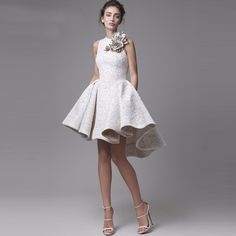 Cheap dress up polo shirt, Buy Quality dresses large directly from China dresses sashes Suppliers: 2016 New High Low Short Prom Dresses Top Quality Jewel Neckline Appliqued Floral Party Dress Lace Evening Gowns Vestido De Festa High Low Prom Dresses, Short Dresses, Formal Dresses, Wedding Dresses, Dresses 2016, Prom Gowns, Formal Prom, Bridal Gowns, Lace Wedding