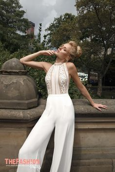 Wedding Gown Guide: Pantsuit