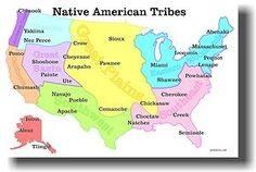 native american tribes map native american tribes native americans and worksheets. Black Bedroom Furniture Sets. Home Design Ideas