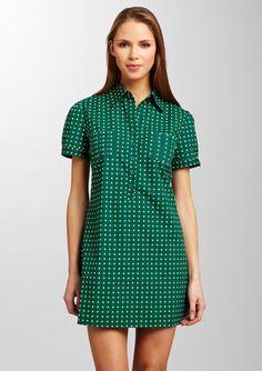 ARYEH Geometric Print Shirtdress