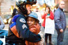 Portland Hugs - Johnny Nguyen/AP Images
