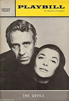 "Anne Bancroft ""DEVILS"" Jason Robards / James Coco 1965 Boston Tryout Playbill"