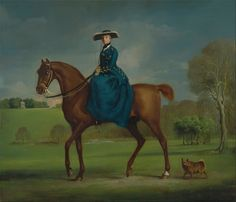 The Countess of Coningsby in the Costume of the Charlton Hunt, by George Stubbs Framed Art Print Magnolia Box Size: Extra Large Fine Art, Painting Prints, British Art, Art, Horse Art, Artwork, Framed Art Prints, Lake Wall Art, Painting