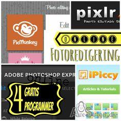 4 gratis fotoprogrammer Online Photo Editing, Pictures, Creative