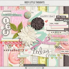 Rosy Little Thoughts : Kit