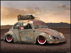 Rat Rod VW Beetle
