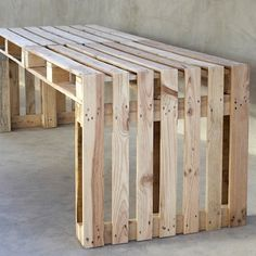 Simple Bench - Wood Pallet Projects- 15 DIY Ideas - Bob Vila