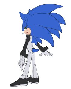08.31 by Lenmeu on DeviantArt. WOAHOHOAH, THAT IS ONE SNAZZY OUTFIT YOU GOT THERE, SONIC!