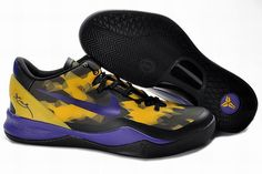 promo code b2666 04af1 Buy Nike Zoom Kobe 8 VIII Lifestyle Lakers Black Yellow Purple from  Reliable Nike Zoom Kobe 8 VIII Lifestyle Lakers Black Yellow Purple  suppliers.