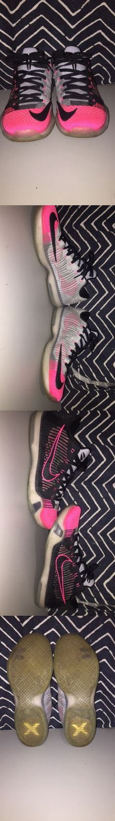 Basketball: Kobe 10 Elite Low Mambacurial Size 11 -> BUY IT NOW ONLY: $80 on eBay!