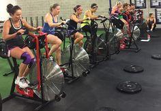 air dyne bike sprints