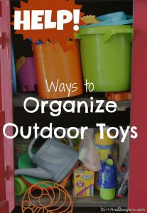 Organizing Outdoor Toys can be such a pain! Some really creative solutions here! Cassie Karstensen via Judi Marcotte onto Kid Stuff Household Organization, Garage Organization, Organization Ideas, Storage Ideas, Outdoor Toys, Outdoor Play, Outdoor Stuff, Outdoor Storage, Outdoor Ideas