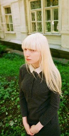 Nastya Zhidkova. ...She looks really sad in this one :(