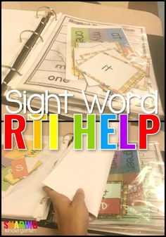Sight Word Help - Sharing Kindergarten #sightwords #learningtoread
