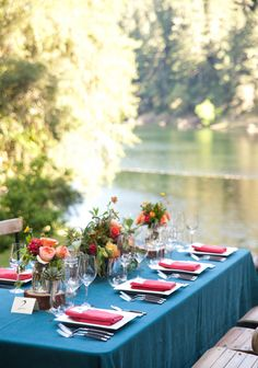 Northern California glamping wedding | Photo by Jen Siska | Read more - http://www.100layercake.com/blog/?p=69475