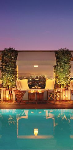 #Jetsetter Daily Moment of Zen: Mondrian Los Angeles in West #Hollywood