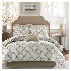 Becker 9 Piece Comforter Set with Sheet Set : Target