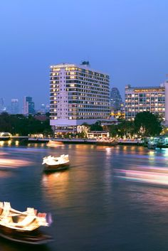 The spa is across the river from the main hotel, accessible by the hotel's teak shuttle boat. #Jetsetter Mandarin Oriental (Bangkok, Thailand)
