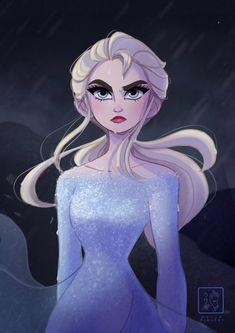 Elsa by unknown artist<<<< This is really fuckin good wow Frozen Queen, Queen Elsa, Disney Frozen Elsa, Disney Princess, Frozen Frozen, Sailor Princess, Princess Art, Frozen Sister Quotes, Frozen Fan Art