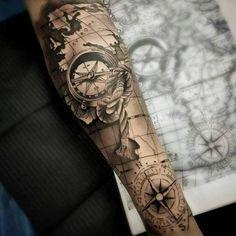 #tat#tats#tattoos#tatuajes#tatuagem#ink#inked#arm#brazos#tatuados… | Tatuajes Chilos
