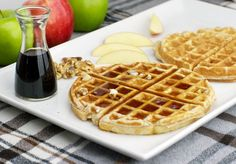 Apple Cinnamon Waffles Today you're making waffles! These tasty Apple Cinnamon Waffles will be a crowd pleaser and keep them all coming back for more. These tasty treats make a great breakfast and dessert.