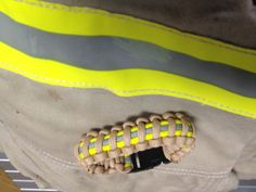 Bunker gear paracord. Support your local Firefighters.