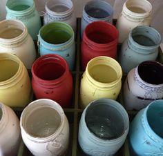 Painted mason jar vases at the Portobello West Fall Market Sep 7 & 8 2013 Mason Jar Vases, Painted Mason Jars, Little Brothers, Wood Projects, Diy Home Decor, Crafty, Portobello, Paint Ideas, Creative