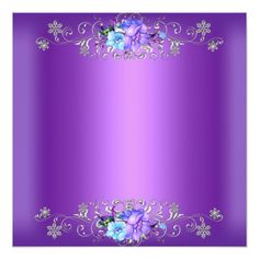 Customizable Invitation made by Zazzle Invitations. Personalize it with photos & text or shop existing designs! Purple Flower Background, Flower Background Wallpaper, Flower Backgrounds, Purple Flowers, Wallpaper Backgrounds, Wallpapers, Background Images, Boarder Designs, Birthday Frames