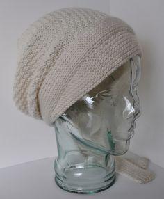 Free slouchy hat knitting pattern Do It Yourself Peasant Cap and more slouchy hat knitting patterns