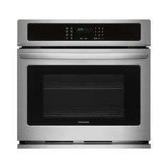 Frigidaire 30 in. Single Electric wall Oven Self-Cleaning in Stainless Steel (Silver)