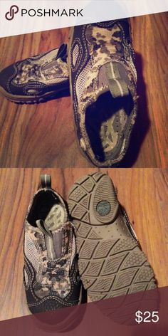🚀🚀RIGHT TIMBERLAND BOYS SLIP-ONS🚀🚀 💚💚NWT CAMO SLIP ONS GREAT CONDITION 💛💛 Right Timberland Shoes