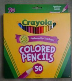 crayola pencils